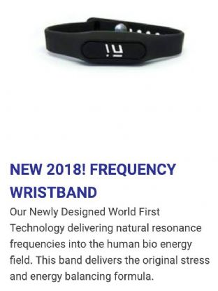 Frequency Wristband Beneficial for 4G, 5G, EMF and Radiation Protection